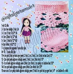Crochet Dolls Texts Origami Elsa Doll Hair Build Your Own How To Make Crafts Tricot Amigurumi DollImage may contain: text – Sharing Women Crochet Doll Pattern, Crochet Dolls, Crochet Patterns, Crochet Hats, Amigurumi Doll, Amigurumi Patterns, Cereal Box Organizer, Afghan Scarf, Crafts To Make
