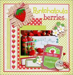 Pontchatoula Berries by Madeline @2peasinabucket