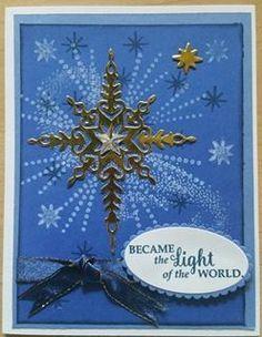 Stampin' Up! Christmas Star of light