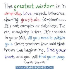 tolerance quotes for kids | The greatest wisdom is in simplicity quotes, Love, respect, tolerance ...