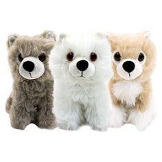 Game Of Thrones - Direwolf Cub 6 Inch Plush Box Set 2015 Convention Exclusive