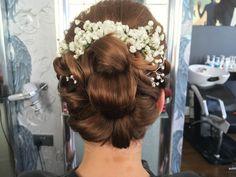 Wedding hair by Carlene