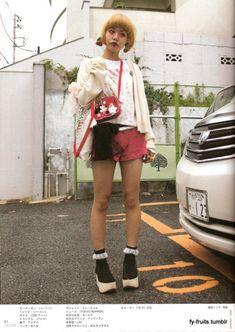 FuckYeahFRUiTS Asian Street Style, Tokyo Street Style, Japanese Street Fashion, Harajuku Fashion, Fashion Outfits, Womens Fashion, Swag Fashion, Swag Style, My Style