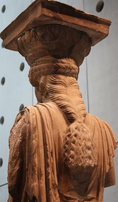 Artemis Karyatis _detail  The New Acropolis Museum