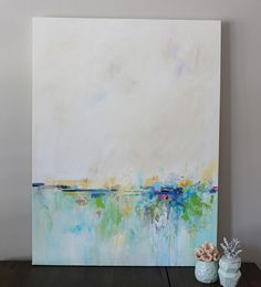 Abstract landscape paintingORIGINAL paintin wall by artbyoak1