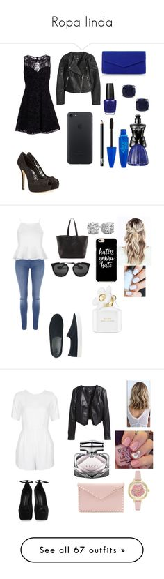 """""""Ropa linda"""" by orii-gentil ❤ liked on Polyvore featuring Alice + Olivia, Dolce&Gabbana, Jewel Exclusive, OPI, Roland Cartier, Anna Sui, H&M, NARS Cosmetics, Jane Norman and Topshop"""