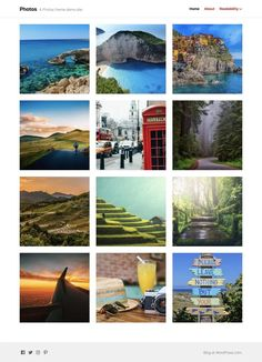 Photos Theme — WordPress.com
