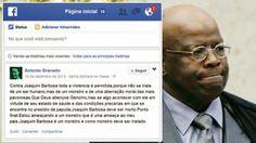 Homem Que Desejava Atentar Contra A Vida Do Ministro Joaquim Barbosa é Um Integrante Da ComissãO De Etica Do Pt, Revela A Revista 'Veja'.