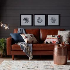 Bring a little boho to your space with this totally cozy Walmart Home look.