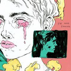 "Mags Munroe on Instagram: ""i've had enough (feat. ink + markers + digital)"" Inspiration Art, Sketchbook Inspiration, Art Inspo, Pretty Art, Cute Art, Art Sketches, Art Drawings, Grunge Art, Arte Sketchbook"