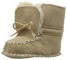 Ralph Lauren Layette Baby Pocono Boot, Tan Suede, 3 M US Infant