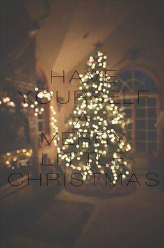 Merry Little Christmas. I just love Christmas.