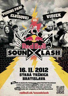 Red Bull Soundclash: PPE vs. Vidiek, 16.11.2012, Bratislava Bratislava, Red Bull, Comic Books, Events, Comics, Cover, Cartoons, Cartoons, Comic