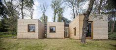 Una casa costruita in poco tempo, con un budget ridotto e…