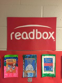 2R Giraffes: Readbox-Less Waiting, More Reading!