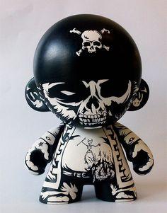 Cool Munny doll art