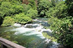 River in national park KRKA, Croatia