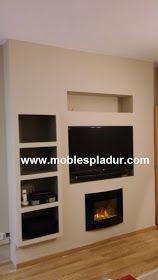 M s de 25 ideas incre bles sobre chimeneas el ctricas en pinterest stone wall living room - Chimeneas electricas barcelona ...