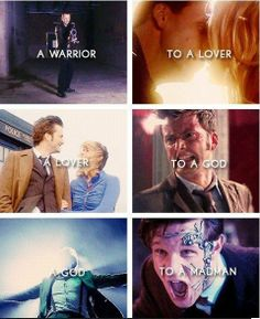 Because 11 became the Doctor River talked about but then he lost them all. All of his family. Again.