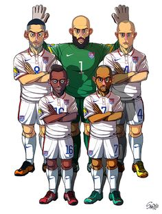 2014 Brazil World Cup 32 teams by Sakiroo Choi, via Behance