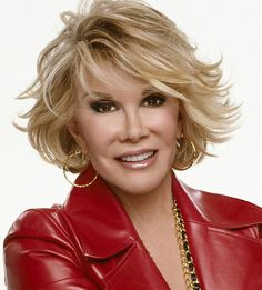 ~ We miss you Joan ~ (Joan Rivers) stand up comedian and actress  RIP 2104 during a simple outpatient procedure