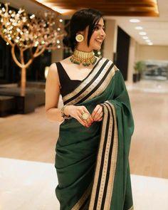 Saree Designs Party Wear, Sarees For Girls, Lehenga, Anarkali, Looks Party, Sari Blouse Designs, Best Blouse Designs, Stylish Blouse Design, Saree Photoshoot