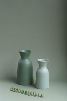 S E M ceramic carafe 1l/50cl by federicabubani www.federicabubani.it