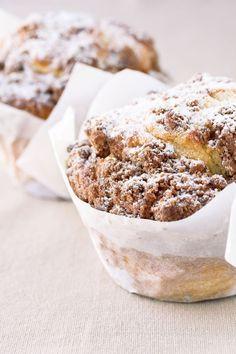 """Het lekkerste recept voor """"Kaneelmuffins"""" vind je bij njam! Ontdek nu meer dan duizenden smakelijke njam!-recepten voor alledaags kookplezier!"""