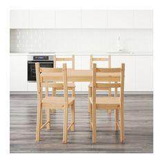 INGO / IVAR Table and 4 chairs  - IKEA