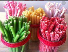 Regalices de muchos sabores. #golosinas Más en www.martinfloressl.es