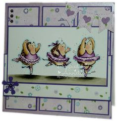 Netty's Cards: Ballet Lessons