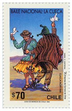 Emisión 1993 Motivo Baile nacional La Cueca no.1631 Argentine, Stamp Collecting, My Stamp, Best Memories, Postage Stamps, South America, Poster, Dance, Photos