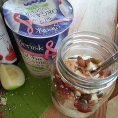@_maymelanie Using Glenisk yogurt as part of every meal of the day. Today's breakfast is might tasty #showusyouryogurt