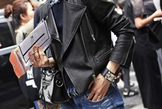The Best Biker Jackets of All Time: From MarlonBrando to Rihanna – Vogue - New York Fashion Week, 2014