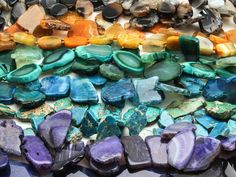 Beading Supplies, Gemstone Beads, Confessions, Eye Candy, Amethyst, Gemstones, Check, Jewelry, Jewlery