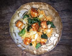 Couscous salad with halloumi & cabbage - CookTogether