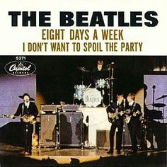 "13th March 1965, The Beatles started a two week run at No.1 on the US singles chart with 'Eight Days A Week', the group's 7th US No.1. Paul McCartney would later say the name of the song came from a chauffeur who drove him one day. ""I said, 'How've you been?'. 'Oh working hard,' he said, 'Working eight days a week.' More on The Beatles: http://www.thisdayinmusic.com/pages/the_beatles_page"