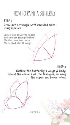 How To Paint a Butterfly 🦋🦋🦋