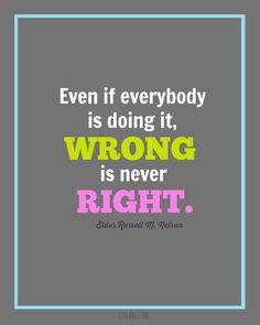 """Even if..."" Quote #ldsconf"