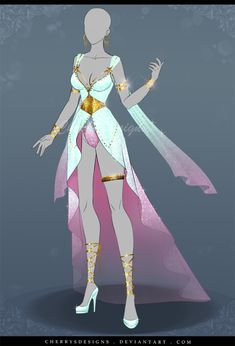 (closed) Outfit Adopt 635 - Greek Gods Themed by CherrysDesigns.deviantart.com on @DeviantArt