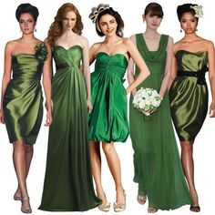 Saint Patrick's Day - Clovers & Greens Attire - Wedding Themed Details - 2015