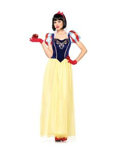 Disney Princess Snow White Adult Womens Costume from Spirit Halloween on shop.CatalogSpree.com, your personal digital mall.