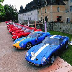 Ferrari GTO Anniversary #Ferrari #250gto #gto #racecar #anniversary #vintagecar #classiccar #carlifestyle #autogespot #drivetastefully Photo by @Ferrari