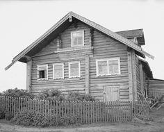 Suojärvi, Hyrsylä; Konttisen talon koristeellinen pääty