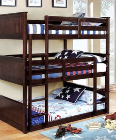 Davin Transitional Triple Full Bunk Bed