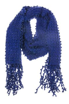 KNITTED FRINGE SCARF – GiGi's Shoe Party Sales