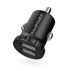 Car Charger RAVPower Smallest Dual USB Car Adapter with iSmart Charging Tech for iPhone 8 / 7 / / Plus, iPad Air / mini, Galaxy / / Edge / Plus, Note - Black [Upgrade Version] >>> Learn more by visiting the image link. (This is an affiliate link) Ipone 7, Car Accessories, Cell Phone Accessories, S7 Edge, Tech Gadgets, Galaxy S7, 6s Plus, Consumer Electronics, Charger
