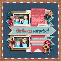 A Project by Digikiwichick from our Scrapbooking Gallery originally submitted 01/19/14 at 02:15 AM