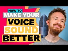 How To Make Your Voice Sound Better (Secrets Revealed) Singing Quotes, Singing Tips, Vocal Lessons, Music Lessons, Editing Skills, Video Editing, Piano, Adobe Audition, Voice Acting