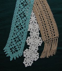 beautiful scarves or belts